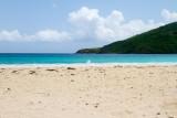 Beach, Ocean and Mountain, Playa Flamenco, Culebra, Puerto Rico