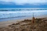 Beach castle, Rio Grande, Puerto Rico