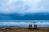 Beach chairs, Rio Grande, Puerto Rico