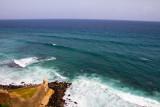 Atlantic ocean, Devil's Guerite, Castillo de San Cristobal