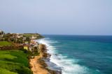Old San Juan from San Cristobal Castle, Atlantic Ocean