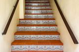 Steps and tiles of Old San Juan