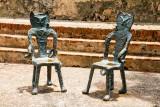 Cat chairs, Old San Juan