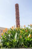 Totem pole, Plaza del Quinto Centenario, Jaime Suarez, Old San Juan