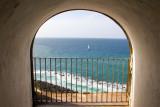 View of Atlantic Ocean, San Felipe El Morro Castle, Viejo San Juan