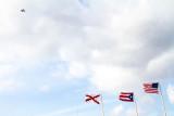 Flags, San Felipe El Morro Castle, Viejo San Juan