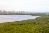 San Juan bay from the air