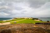 View of Old San Juan, Atlantic Ocean and San Juan Bay
