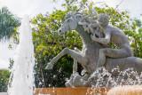 Raices Fountain, Luis Sanguino, Paseo de la Princesa, Viejo San Juan