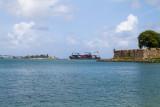 Ships entering San Juan Bay