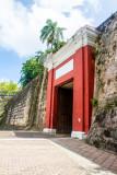 Old San Juan, Entering as guests did, through Puerta, San Juan Gate