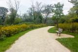 Bench, Trail, Barrington Park, Illinois