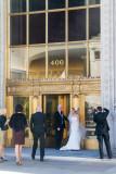 Wedding, photographer, bride, Wrigley Building, Chicago, IL