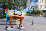 Horses of Honor, Chicago Police Memorial, Public art, Chicago, IL