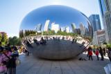 Round Cloud Gate, Chicago, IL