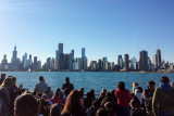 Chicago, IL from a Lake Michigan cruise