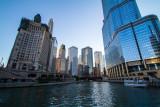 Chicago river, Chicago, IL