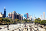 View from Museum Campus Metra, Chicago, IL