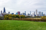 View of Chicago, Field Museum, IL