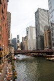 Chicago River and the loop, Chicago, IL