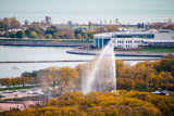 Buckingham Fountain, Fall Colors, Open House Chicago, 2014