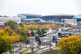 Soldier Field, View from the Presidential Suite, Blackstone Hotel, Fall Colors, Chicago Open House 2014