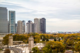 View from the Presidential Suite, Blackstone Hotel, Fall Colors, Chicago Open House 2014