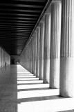 Stoa of Attalos' columns, Athens