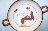 White-ground kylix, Delphi