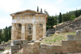 Treasury of the Athenians, Delphi