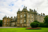 Palace of Holyroodhouse - Queen's official residence in Edinburgh, Scotland