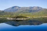 Mountain lake, Mirror Mirror in Isle of Skye, Scotland