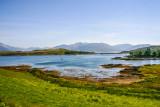 Lake in the Skye and island within the island, Scotland