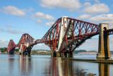 Historic Forth Bridge, Scotland