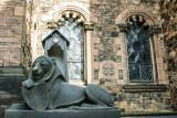 Lion, Edinburgh Castle, Scotland