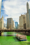 Chicago River, St. Patrick's Day, 2015