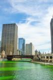 Chicago, St. Patrick's Day, 2015