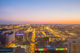 View from Presidential Towers, Chicago, St. Patrick's Day, 2015