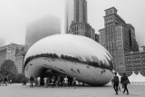Chicago in the clouds, Cloud Gate