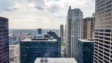 View from the 29th floor, 111 S Wacker Dr., Chicago