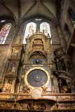 Astronomical clock, La cathedrale Notre-Dame de Strasbourg, France