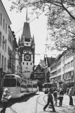 The Martinstor, one of the original city gates in Freiburg im Breisgau, Black Forest, Germany