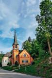 Church, Triberg, Black Forest, Germany