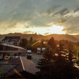 Gengenbach, Sunset, Black Forest, Germany