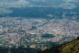View of Innsbruck, Seegrube, Cablecar, Austria