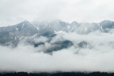 Alps and clouds, Innsbruck, Austria