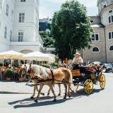 Horse carriage, Salzburg, Austria