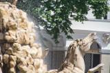 Residenzbrunnen, fountain, Sound of Music location, Salzburg, Austria