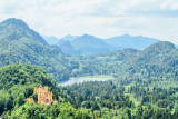 Hohenschwangau Castle and Schwansee, Bavaria, Germany