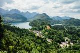 Hohenschwangau, Alpsee, Schwansee, Bavaria, Germany